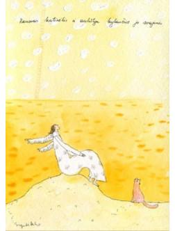 Rausvas katinėlis ir aukštyn kylančios jo svajonės