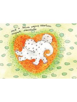 Meilė ir žaliuose svajonių debesėliuose skriejantis drambliukas