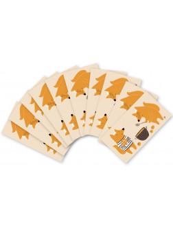 MUK.126 Mažų užrašų kortelių rinkinukas