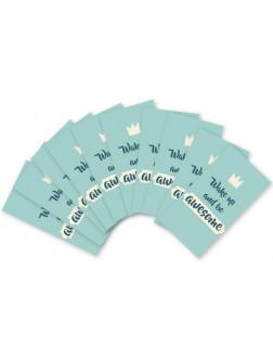 YMK107. Ypatingai mažų užrašų kortelių rinkinukas