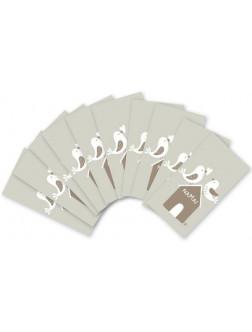 YMK106. Ypatingai mažų užrašų kortelių rinkinukas